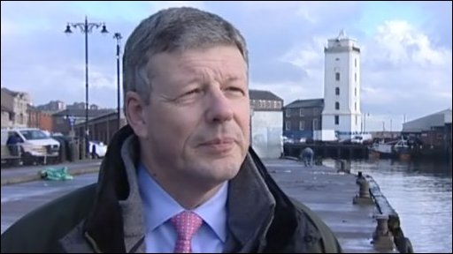 Jeremy Pritchard, managing director of North Shields Fish Quay Ltd