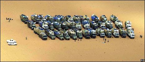 Food aid convoy