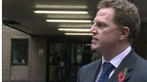 Derek Frame of the Crown Prosecution Service