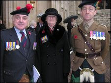 Maj Ronnie Proctor, Sonia Proctor, Lt Col Tim Coles