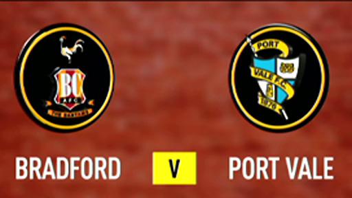 Bradford v Port Vale
