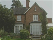 Hilda Murrell's house in Shrewsbury
