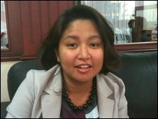Hanim - a Malay living in Jakarta