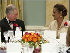 Prince Charles and Governor General Michaelle Jean