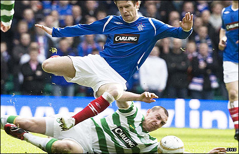 Rangers and Celtic are both keen on a move to English football