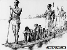 Sketch of Congolese slave traders