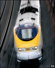 Eurostar train