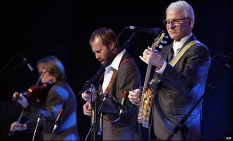 Steve Martin and his band