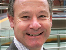 Eurostar chief executive Richard Brown