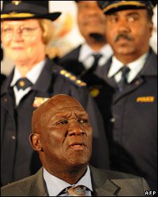 South Africa's police chief Bheki Cele