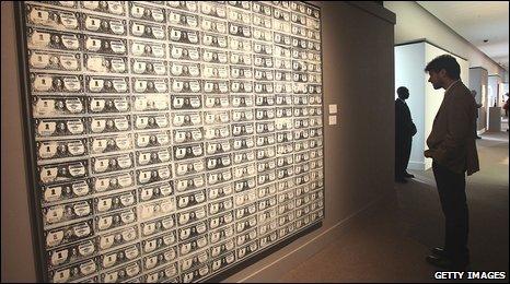 Resultado de imagen de Andy Warhol 200 One Dollar Bills