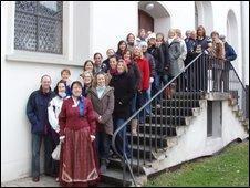 Bel Canto Choir on Biberach trip