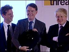 Fraser Nelson, Lord Mandelson, Boris Johnson