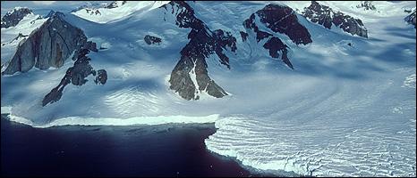 Glacier, Antarctic (Image: BAS)