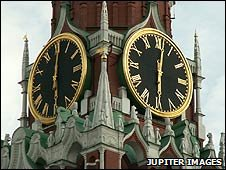 Clocks in Moscow