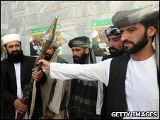 Taliban fighters surrender in western Afghanistan