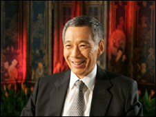 Singapore PM Lee Hsien Loong Nov 09