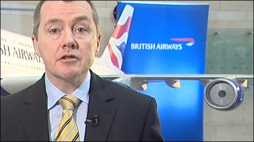 Willie Walsh, chief executive, BA