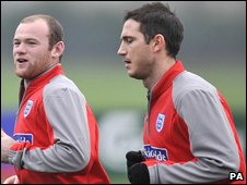 Rooney and Lampard
