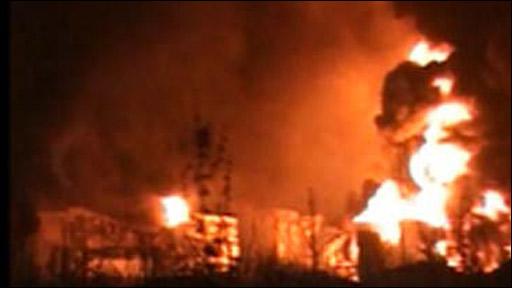 Buncefield Oil Explosion
