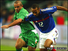 Stephen Carr and Thierry Henry