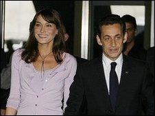 Carla Bruni is Nicolas' Sarkozy's third wife