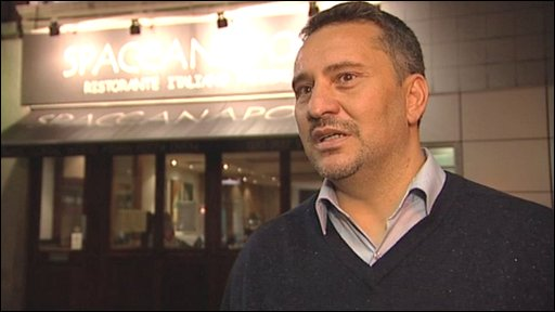 "Restaurant owner Domenico Savarese says he has lost his ""certain future""."