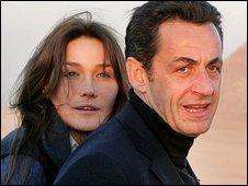 Carla Bruni-Sarkosy and Nicolas Sarkosy