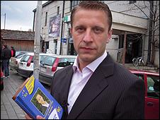 Serb mayoral candidate Bratislav Nikolic