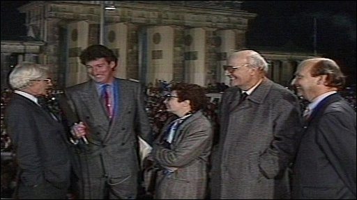 Charles Wheeler, Jeremy Paxman and guests