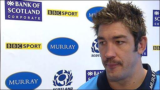Scotland lock Nathan Hines
