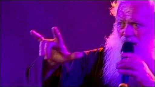 Cesare Bonizzi, the heavy metal monk