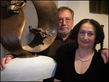 Laszlo Ruszina and Maria Torley