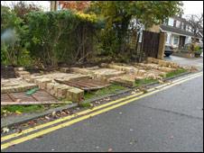 Storm damage in Benfleet (Pic: Jonathan Bradshaw)