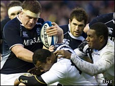 Scotland put Fiji under pressure