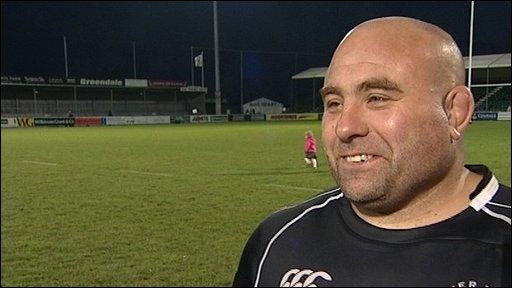 Chris Budgen BBC SPORT Rugby Union Exeter 2215 Cornish Pirates