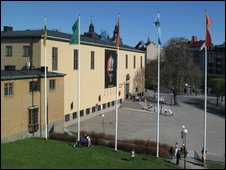Stockholm's antiquities museum (Handout: The Museum of National Antiquities)