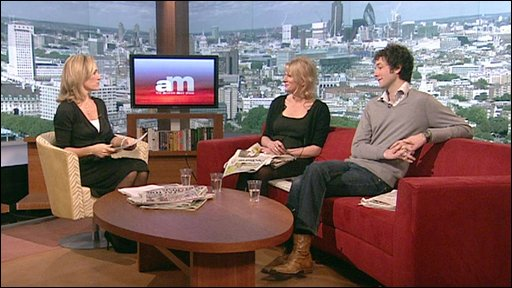 Sophie Raworth, Ann Treneman and Chris Addison