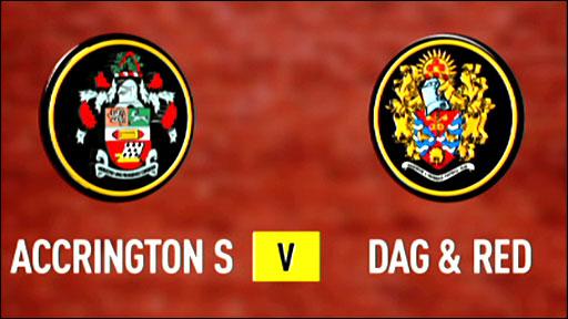 Accrington 0-1 Dag & Red