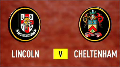 Lincoln 1-1 Cheltenham