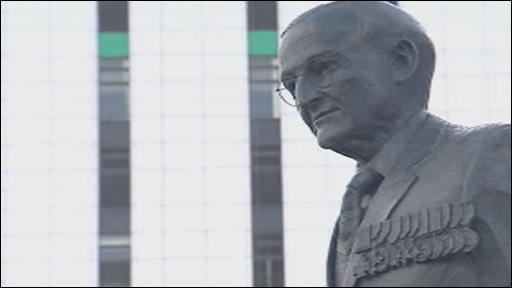 Sir Tasker Watkins's statue