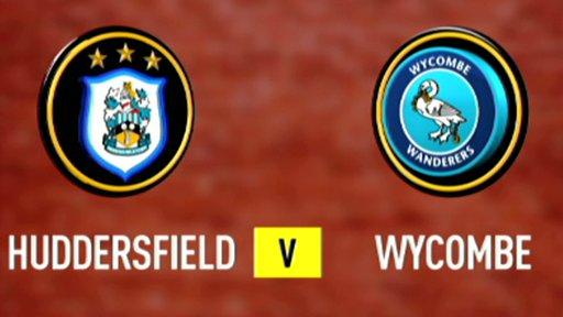 Huddersfield 6 - 0 Wycombe