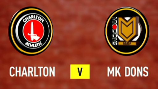 Charlton 5 - 1 MK Dons