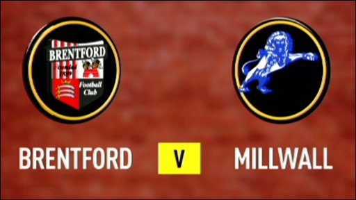 Brentford 2 - 2 Millwall