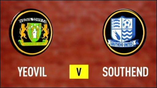 Yeovil 1 - 0 Southend