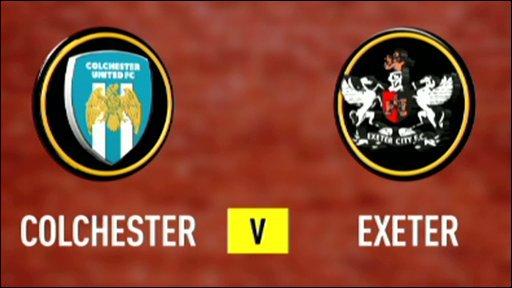 Colchester V Exeter