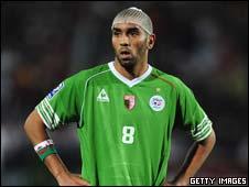 Algeria's Khaled Lemmouchia