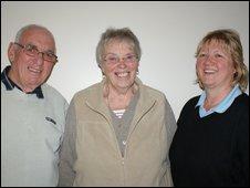 Hadyn, Joyce and Sue