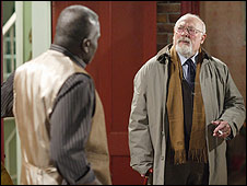 Edward Woodward in EastEnders