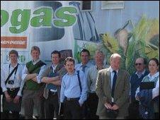 Biogas study tour to Vienna.